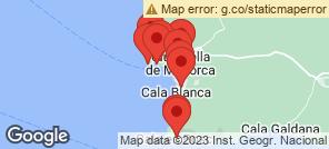 Map for Binibeca