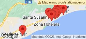 Map for Malgrat De Mar