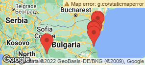 Map for Bulgaria