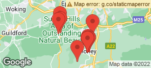 Map for Dorking