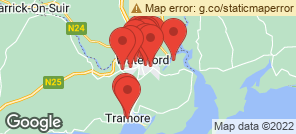 Map for Waterford