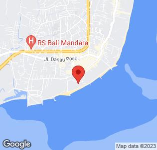Map for Sanur Beach Hotel