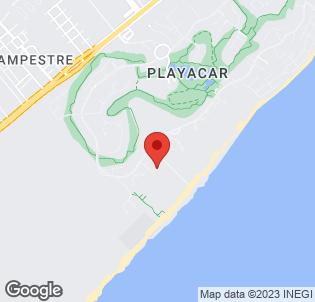 Map for Riu Yucatan Playacar