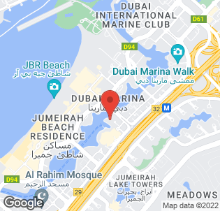 Map for Amwaj Rotana