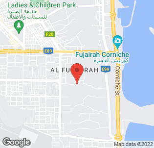 Map for Le Meridien Al Aqah Beach Resort Hotel
