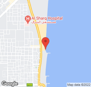 Map for Iberotel Miramar Al Aqah Beach Resort