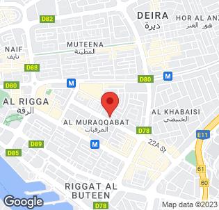 Map for Coral Deira Dubai