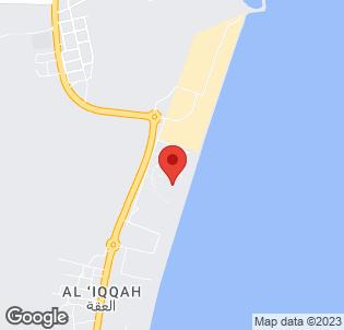 Map for Fujairah Rotana Resort & Spa - Al Aqah Beach