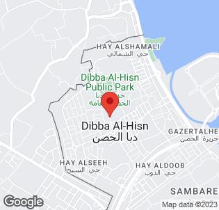 Map for Radisson Blu Resort Fujairah