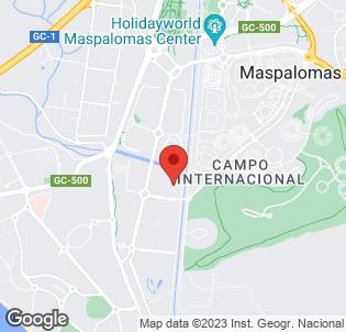 Map for Maspalomas Oasis Club Apartments