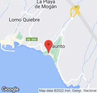 Map for Hotel Taurito Princess