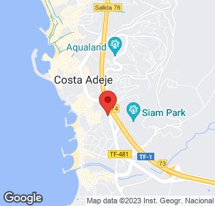 Map for Hoteles Isla Bonita & Jardin Isla Bonita
