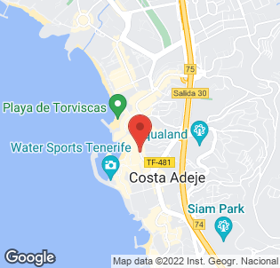 Map for Los Geranios Apartments