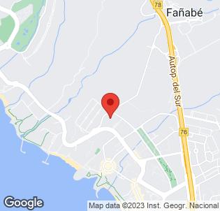 Map for Melia Jardines del Teide