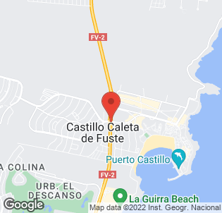 Map for Fuertesol Bungalows