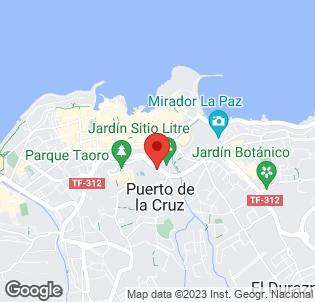 Map for Dania Magec Resort