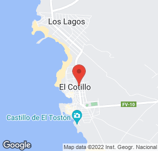 Map for Cotillo Beach Hotel