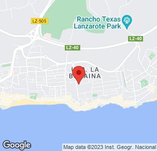 Map for Cinco Plazas Apartments