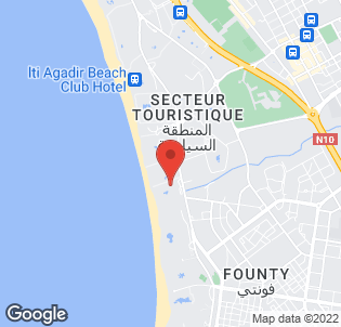 Map for Hotel Riu Tikida Beach