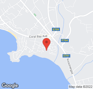Map for Ascos Coral Beach Hotel