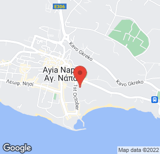Map for New Famagusta Hotel