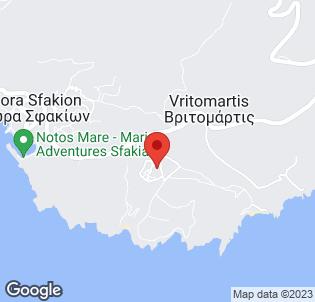 Map for Vritomartis Hotel