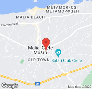 Map for Vagelis Studios & Apartments