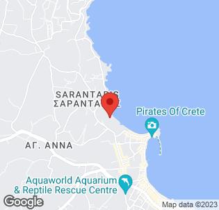 Map for Creta Maris Beach Resort