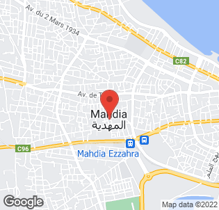 Map for Mahdia Palace Hotel