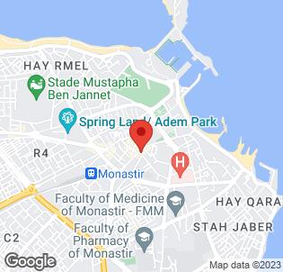 Map for Monastir Center