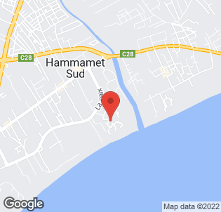 Map for Riu Palace Hammamet Marhaba
