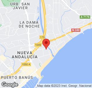 Map for Melia Marbella Banus