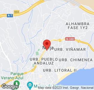 Map for Apartamentos Verano Azul