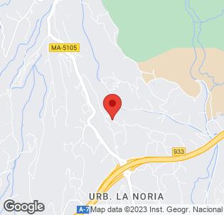 Map for Rural Almazara Hotel
