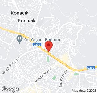 Map for Hotel Bizimtepe