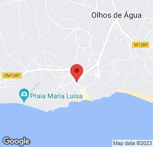 Map for Naturmar Praia Apartments