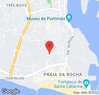 Map for Club Praia Da Rocha Apartments