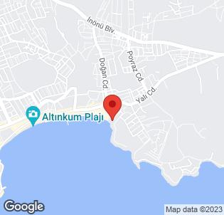 Map for Tuntas Hotel Altinkum
