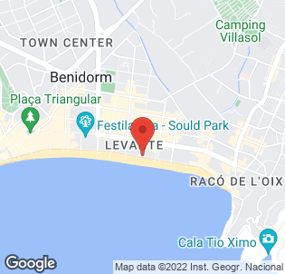 Map for Les Dunes Comodoro Hotel