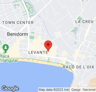 Map for Hotel Sol Pelicanos Ocas