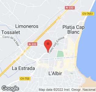 Map for Albir Playa Hotel