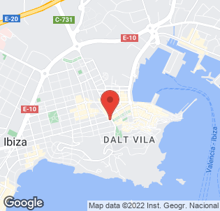 Map for Calas de Ibiza Apartments