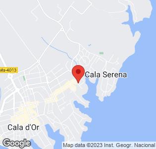 Map for Cala Ferrera Hotel