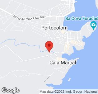 Map for Cala Marsal
