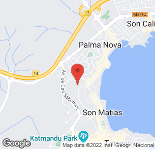 Map for Hotel Don Bigote