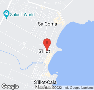 Map for Playa Blanca Hotel