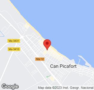 Map for Gran Playa Apartments