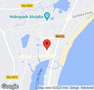 Map for Sol De Alcudia Apartments