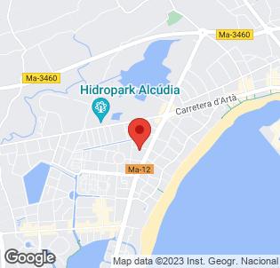 Map for Delfin Azul Hotel