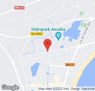 Map for Club MAC Alcudia
